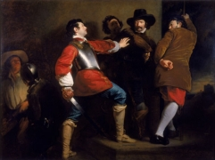 Discovery of the Gunpowder Plot (vers 1823), Henry Perronet Briggs.