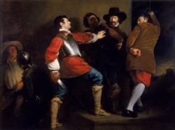 Discovery of the Gunpowder Plot (vers 1823), Henry Perronet Briggs.