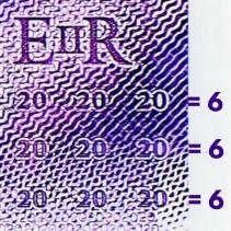 Le billet de 20 £ émis le 20 février 2020 (666).
