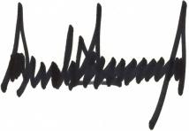 Trump - Signature