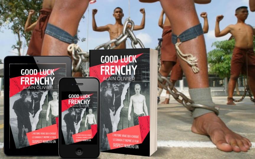 Guy Boulianne a publié le livre de Alain Olivier, «Good Luck Frenchy», l'histoire vraie qui a inspiré le film « Suspect Numéro Un»