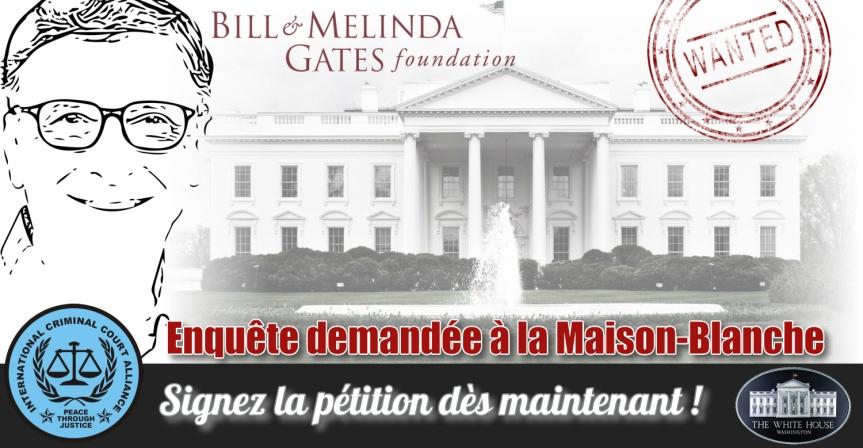 Nous appelons à des enquêtes sur la Fondation Bill & Melinda Gates pour faute professionnelle médicale et crimes contre l'humanité