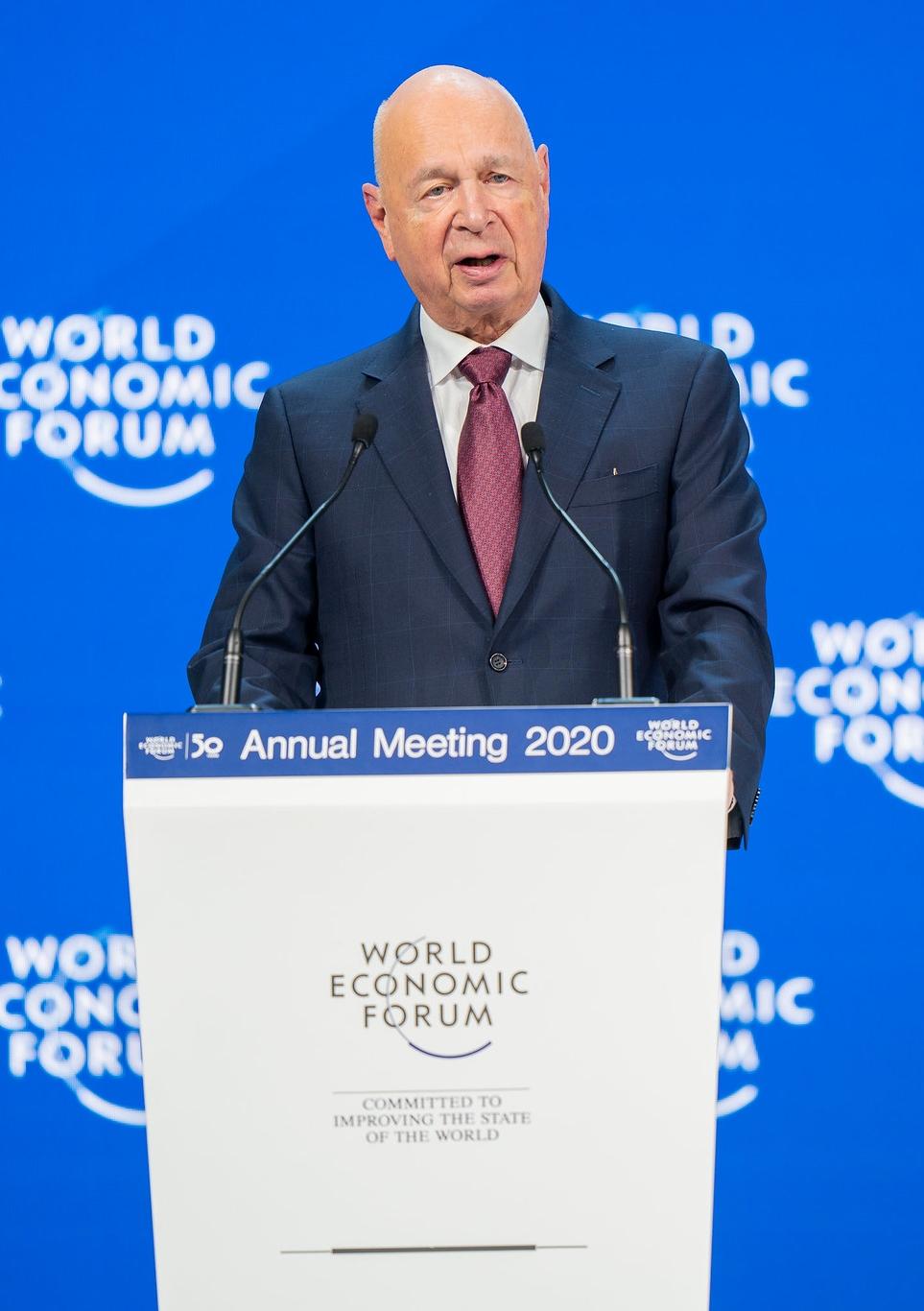 Klaus Schwab, fondateur et président du FEM