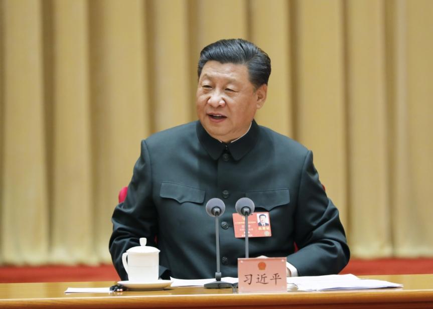Le président chinois, Xi Jinping, appelle à la préparation au combatmilitaire