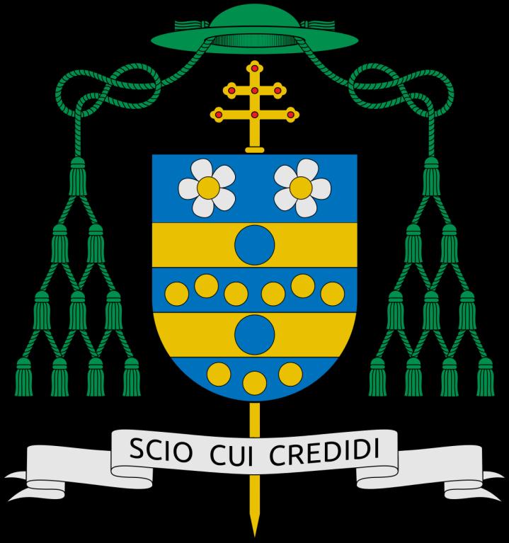 Mgr Carlo Maria Viganò (blason)