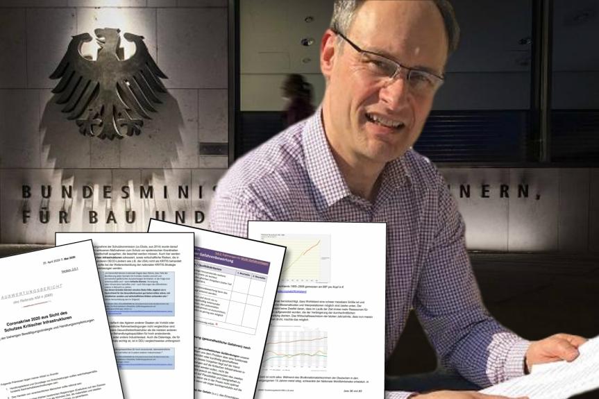Un rapport du ministère fédéral de l'Intérieur allemand dénonce la pandémie COVID-19 comme « une fausse alerte mondiale».