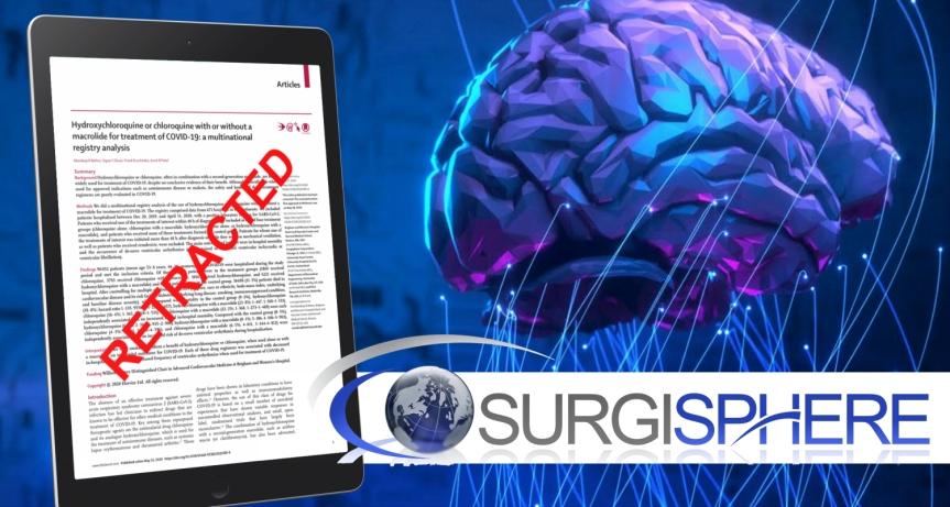 Enquête exhaustive concernant la société Surgisphere qui a fourni les données à l'étude publiée dans la revue scientifique TheLancet