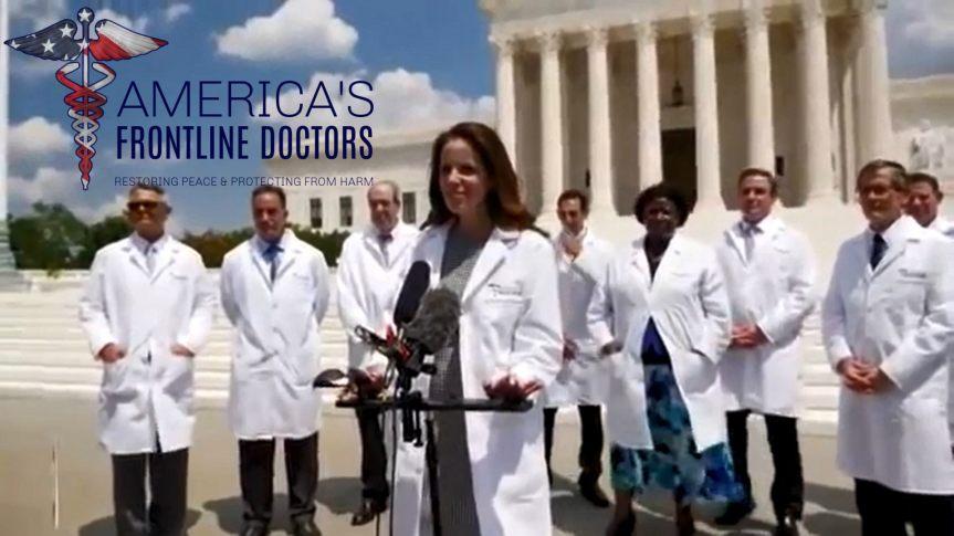 Une conférence de presse donnée par un groupe de médecins devant la Cour suprême des États-Unis est censurée en moins de 12heures