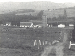 La ferme Paquet et Frères Inc. à Amqui