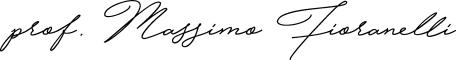 Massimo Fioranelli (signature)
