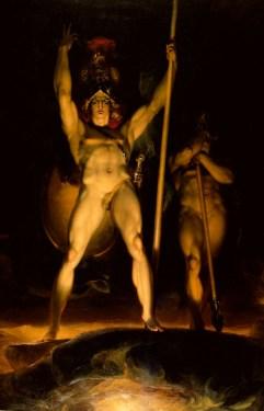 Lawrence, Thomas; Satan summoning his Legions