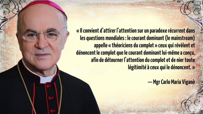 Mgr Carlo Maria Vigano s'exprime sur le Concile Vatican II (traductionautorisée)