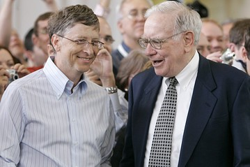 Bill Gates et Warren Buffett
