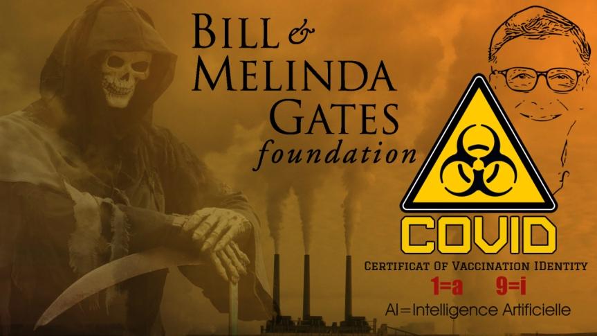 Le médecin italien, Roberto Petrella, met en garde la population contre l'extermination et Bill Gates se prend pour le cavalier de lamort