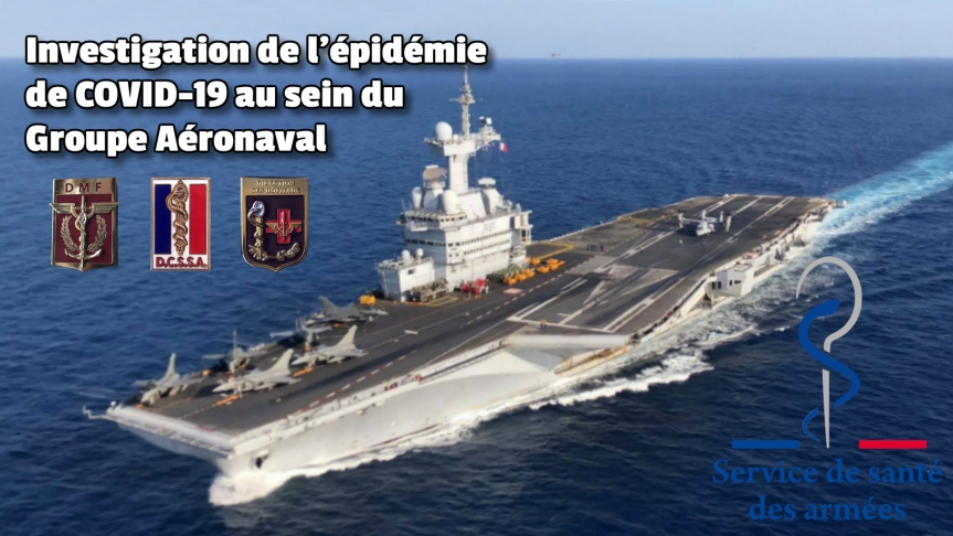 Une excellente nouvelle, passée complètement inaperçue, l'acquisition d'une immunité par les troupes de marins du Charles-de-Gaulle