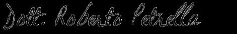 Dott. Roberto Petrella (signature)