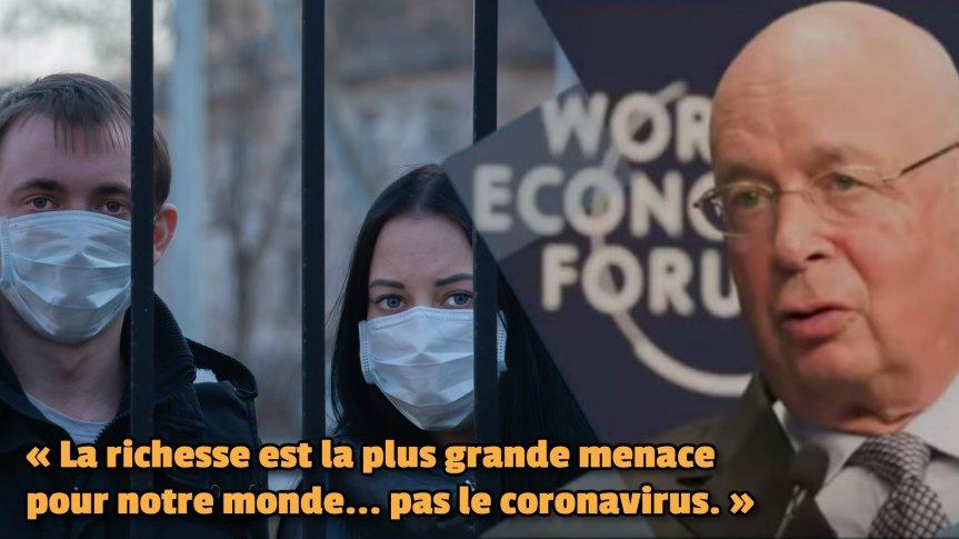 Le Forum économique mondial avoue son projet criminel de ruiner la population mondiale par l'intermédiaire de la grande réinitialisation