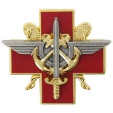 Insigne de poitrine du service de santé des armées