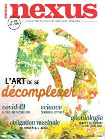 Magazine Nexus, numéro 129, août 2020 (couverture)