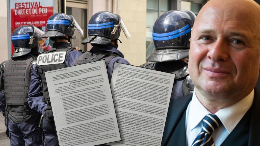 Policiers en colère contre l'obligation du port du masque en France: « Nous exigeons l'abrogation des textes obligeant le port du masque»