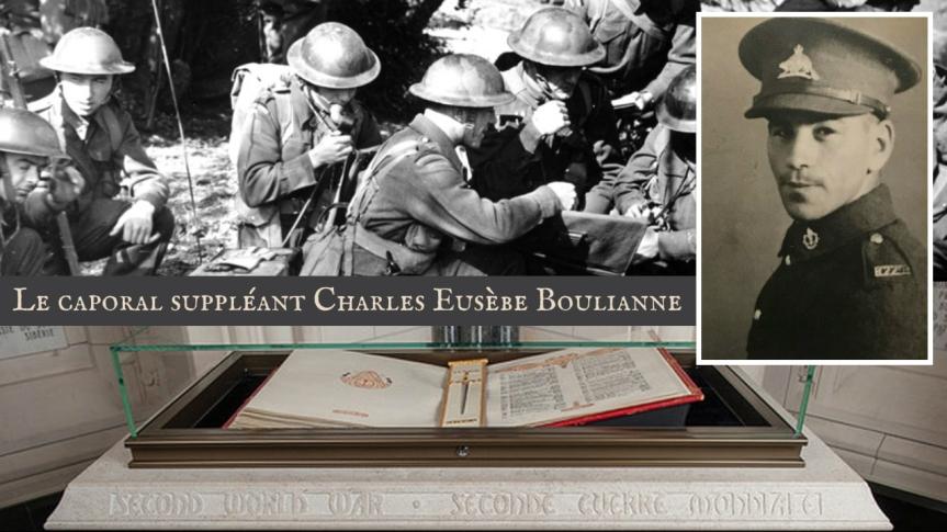 Une tranche d'histoire — Le caporal suppléant Charles Eusèbe Boulianne, héros de guerre du débarquement et de la conquête deSicile