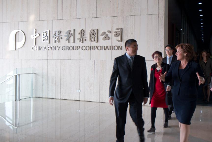 Les Poly Papers, ou Comment le gouvernement libéral de la Colombie-Britannique a déroulé le tapis rouge à China Poly Group Corporation, une branche de l'Armée populaire delibération