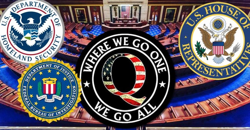 Censure ou Sécurité nationale? La Chambre des représentants des États-Unis condamne QAnon et rejette les théories du complot qu'ilpromeut