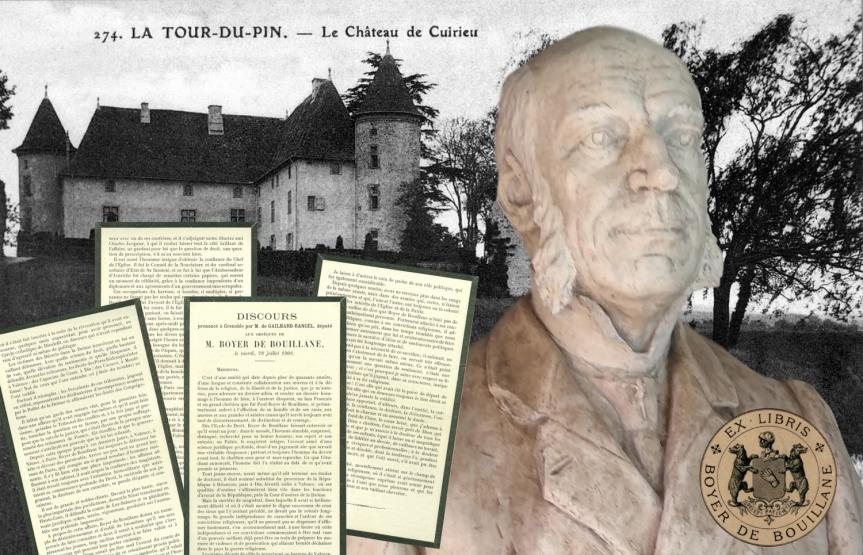 Discours prononcé à Grenoble par le député Hyacinthe de Gailhard-Bancel aux obsèques de Pierre Paul Henri Dominique Boyer deBouillane