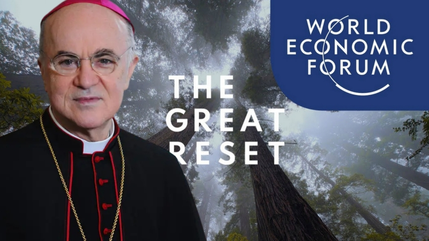 L'archevêque Carlo Maria Viganò envoie une lettre ouverte au Président des Etats-Unis Donald Trump concernant le « Great reset»