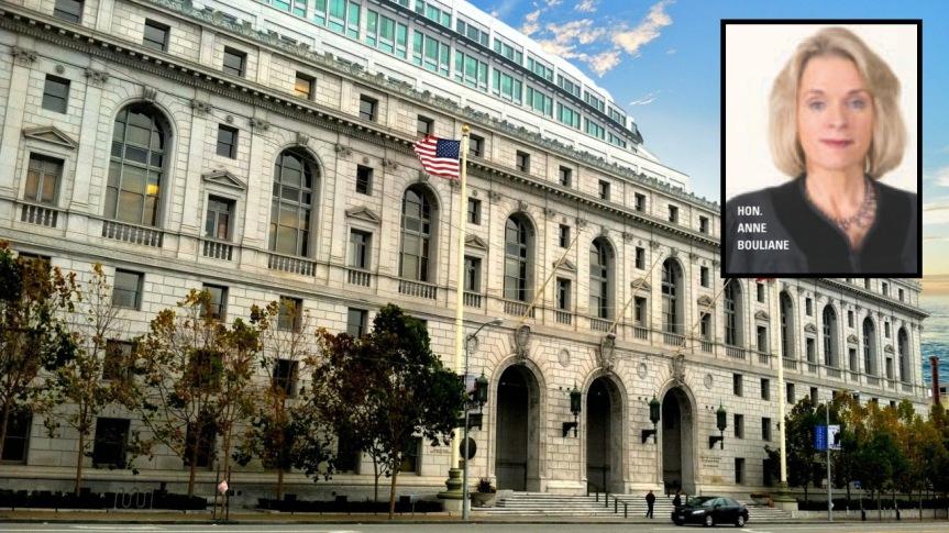 L'honorable Anne Elizabeth Bouliane, juge de la Cour supérieure de San Francisco, a suivi les traces de son arrière-grand-cousin (XIXes.)