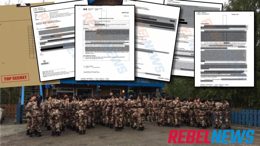 DOCUMENTS MILITAIRES SECRETS : Trudeau a invité les troupes chinoises à s'entraîner dans les bases militairescanadiennes