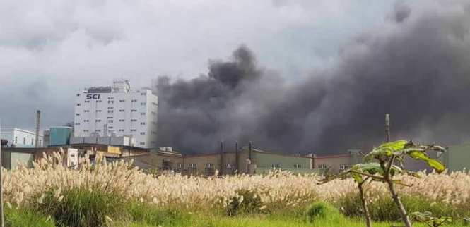 Explosion à Taiwan - 01