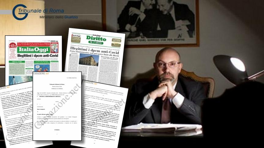 Italie — La Cour de Rome déclare que les décrets ministériels anti-coronavirus sont illégitimes, les libertés et les droits constitutionnels violés