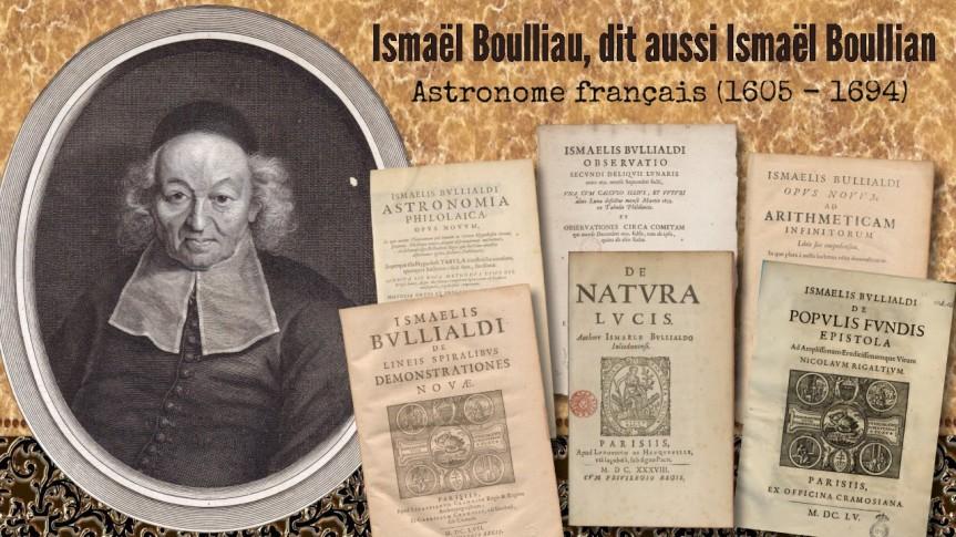 Un Fils de l'Ours — Ismaël Boullian: astronome, mathématicien, météorologue. Inspirateur de Isaac Newton et ami de BlaisePascal