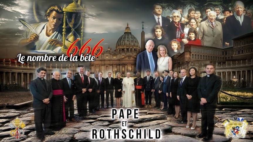 Le Vatican conclut une «alliance mondiale» avec les Rothschild, la Fondation Rockefeller et les banques pour créer une Grande Réinitialisation