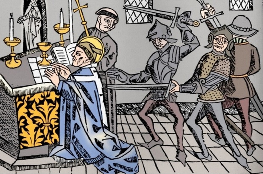 Le 29 décembre 2020 — Donald Trump célèbre saint Thomas Becket en ce 850e anniversaire de son martyre : « Nous voulons Dieu !»