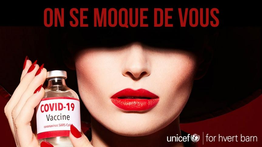 Ils se moquent de vous — L'UNICEF utilise la symbolique de la femme écarlate apocalyptique pour « promouvoir » le vaccinCovid-19