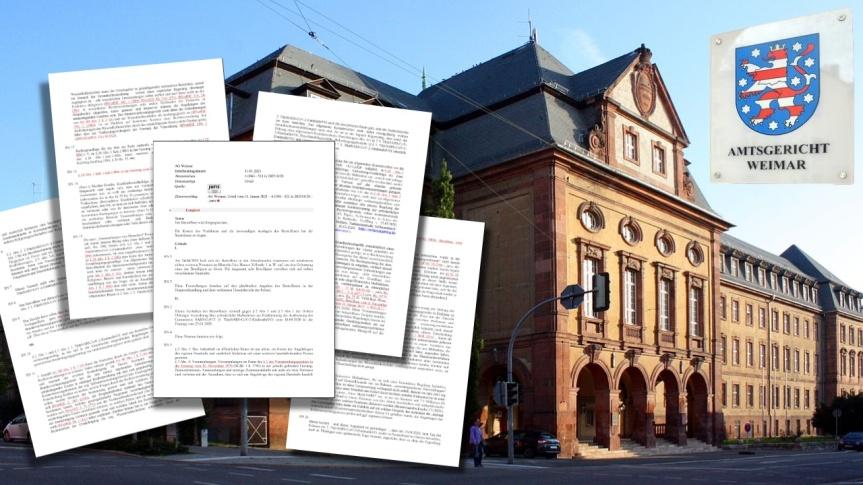Le tribunal de Weimar, en Allemagne, juge que les restrictions de contact imposées dans le cadre de la Covid-19 sont inconstitutionnelles