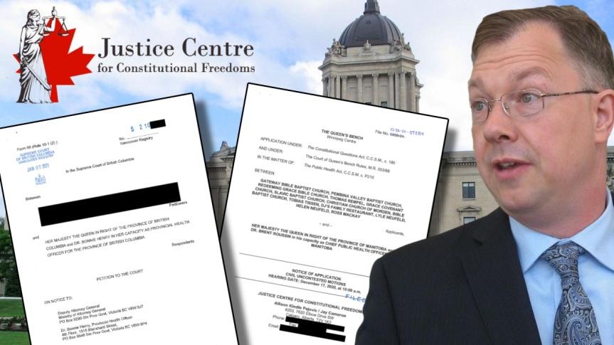 Dates des audiences fixées pour les poursuites judiciaires en matière de verrouillage abusif en Colombie-Britannique et au Manitoba(Canada)