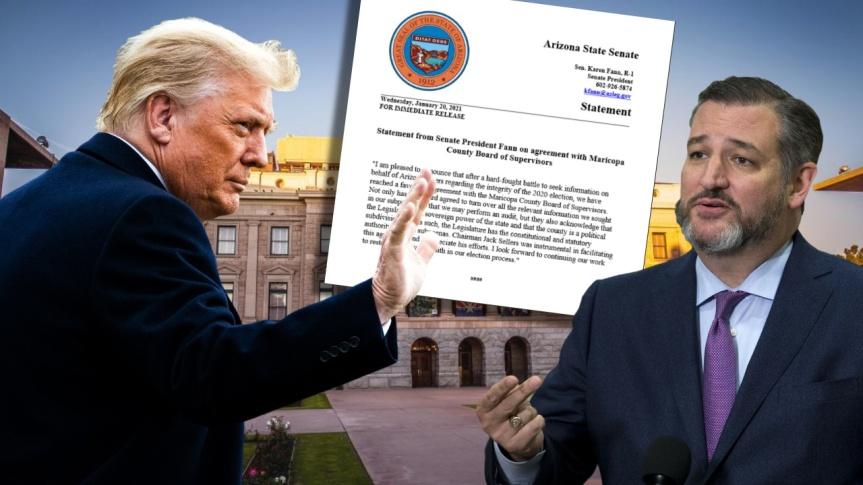 Une heure après l'assermentation de Biden, les responsables du comté de Maricopa remettront du matériel électoral au Sénat del'Arizona