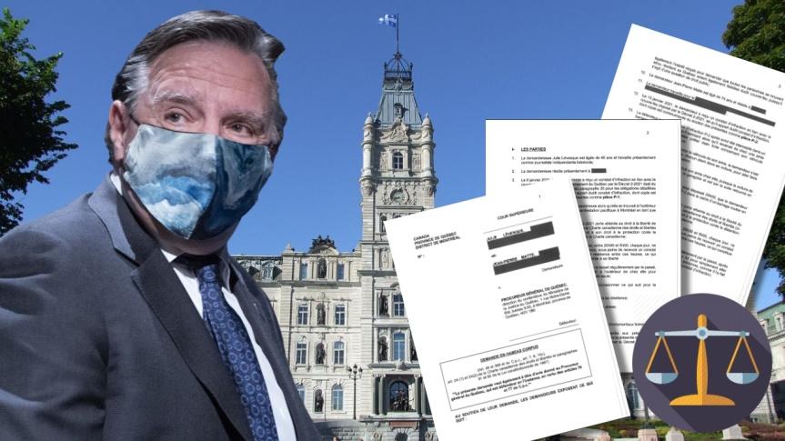 Une requête en « habeas corpus » a été déposée à la Cour supérieure du Québec pour faire déclarer le couvre-feu inconstitutionnel