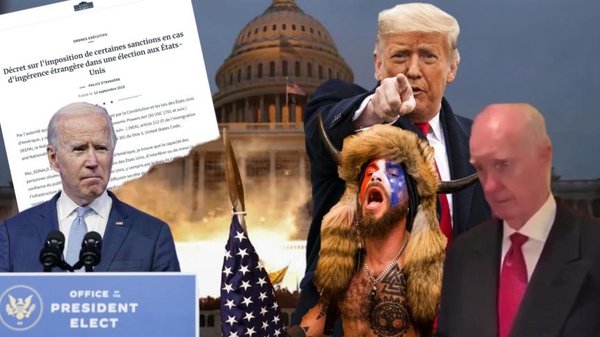 Le président Donald Trump invoquera-t-il le décret 13848 pour rétablir l'ordre et la justice aux États-Unis et dans le monde libre?