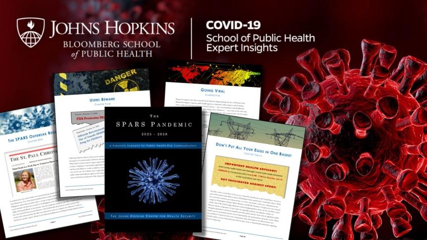 Il y a trois ans, l'Université Johns Hopkins avait préparé un scénario futuriste sur une pandémie SPARS qui se poursuivrait jusqu'en2025-2028
