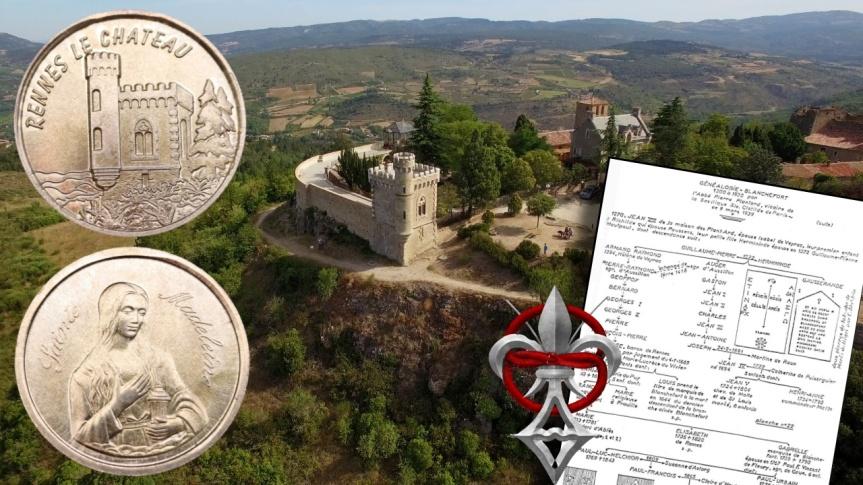 La médaille Sainte Madeleine, les Dossiers secrets d'Henri Lobineau, Pierre Plantard de Saint-Clair et le mystère de Rennes-le-Château