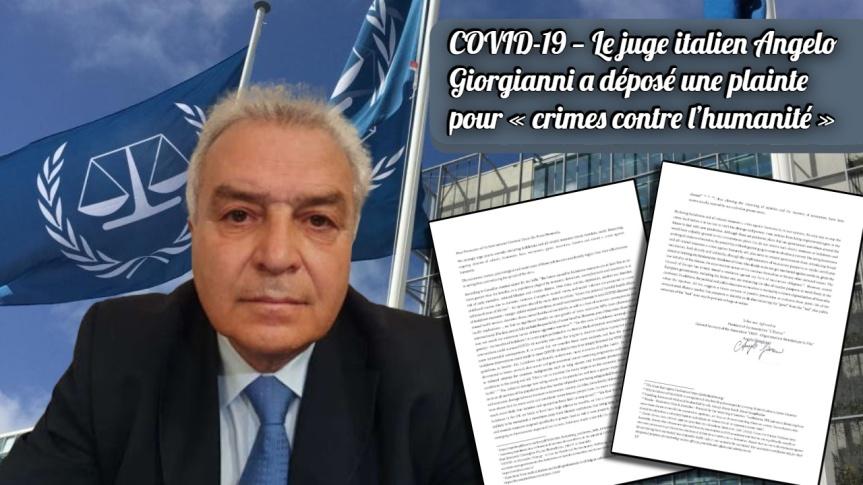 Les combats se mènent sur tous les fronts — Le juge italien Angelo Giorgianni a lui aussi déposé une plainte pour « crimes contre l'humanité»