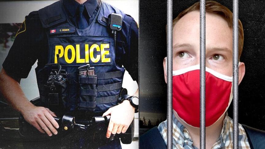Séquestration et extorsion criminelles — Le journaliste de Rebel News, Keean Bexte, est dans une prison canadienne COVIDillégale