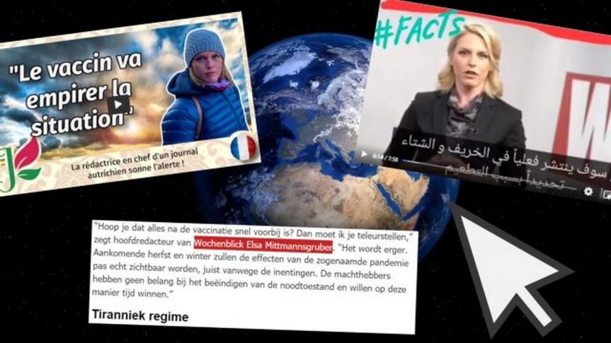 La vidéo censurée de la rédactrice en chef du magazine Wochenblick fait le tour du monde : «La vaccination est la vraiepandémie»