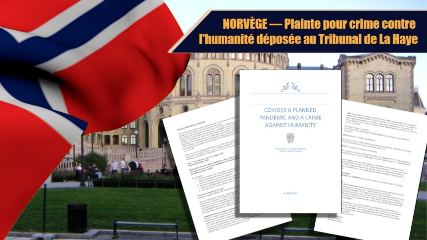 Un groupe de chercheurs intente une action en justice contre le gouvernement norvégien pour crimes contre l'humanité au Tribunal de LaHaye