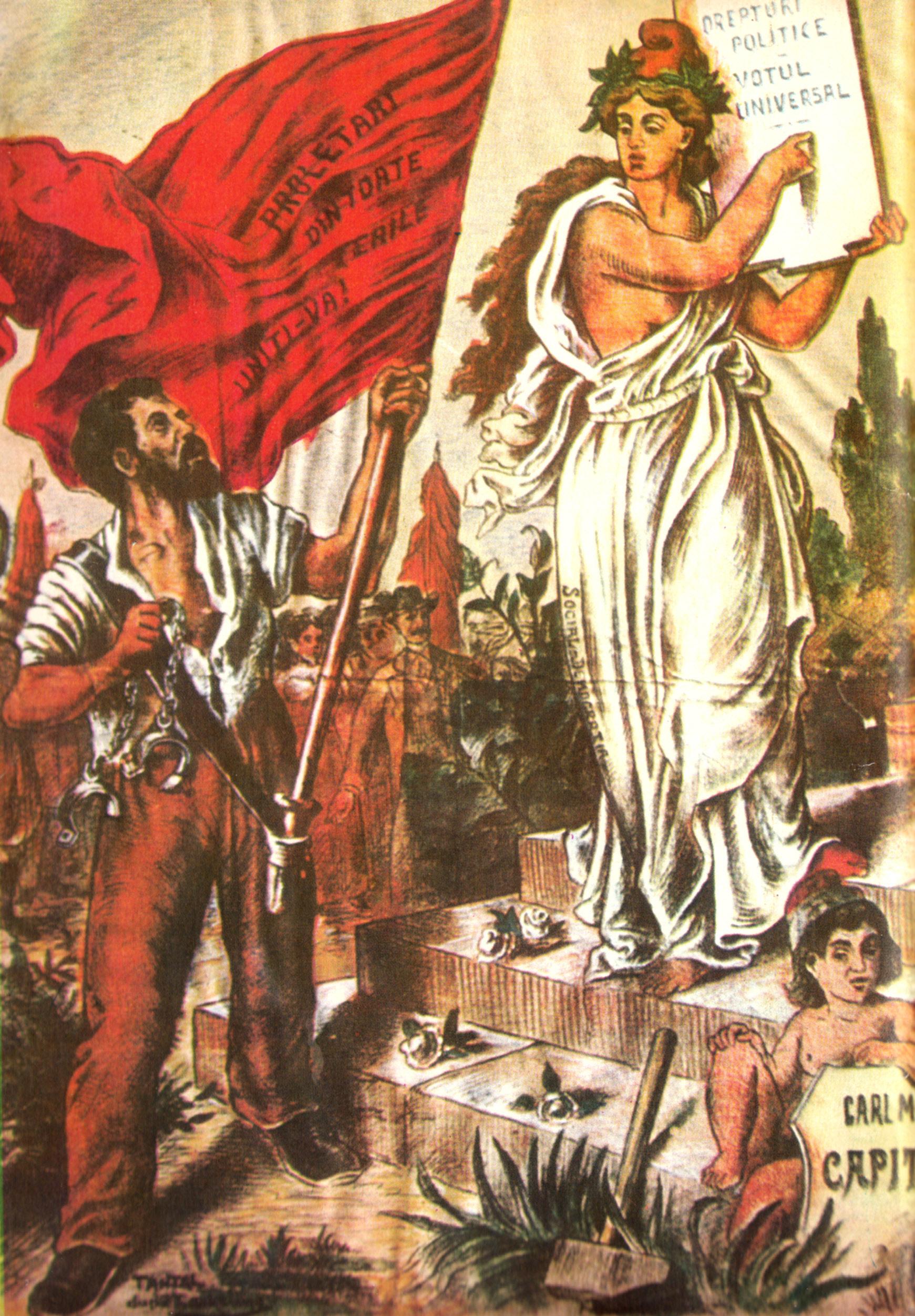 Imagerie socialiste (Roumanie, 1895)