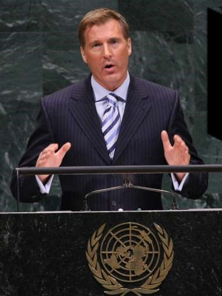 Maxime Bernier aux Nations Unies (2007)